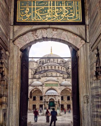 Gezgin Sultanahmet'te .. Historic Ottoman Empire Architecture Blue Mosque Summer2016✨ İstanbul Remembrance