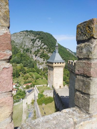 Catars Castell De Foix Foix France Occitania Ancient History Old Ruin Clear Sky Sky Architecture Building Exterior Built Structure Stone Wall Castle Medieval The Past