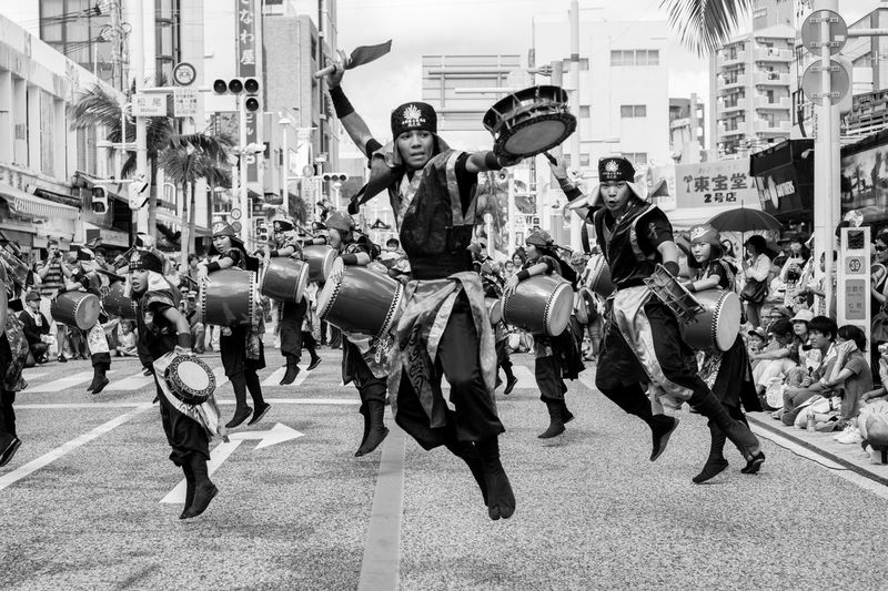 Sony A6000 Sony A6000 Focus On Foreground Okinawa Street Photography Kokusai-street Kokusai Street Oki People Dancer Man Naha