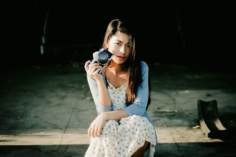 https://www.instagram.com/ynonsia The Week Of Eyeem EyeEm Gallery EyeEm Best Edits EyeEm The Portraitist - 2016 EyeEm Awards (null)Portrait Sunlight Shadow Light And Shadow Girl EyeEm Best Shots Portrait Of A Woman Looking At Camera Asian Girl Showcase July