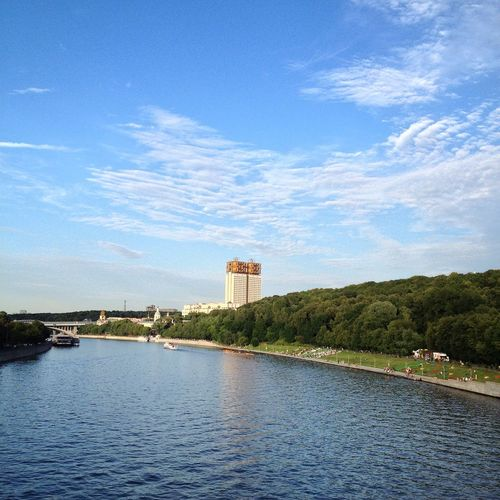 Beautiful Russia Hello World Moscow OpenEdit Vscocam Moscowriver River Town Summer