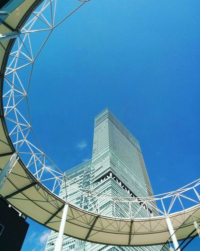 Japan Scenery Architecture Built Structure Modern Travel Destinations Sky Low Angle View Steel No People Clear Sky Day Outdoors City Spiral Staircase Japan Photography Japan Sky Japan OSAKA Osaka,Japan Osaka 大阪 Osaka City Osaka Japan 大阪 あべのハルカス あべの First Eyeem Photo