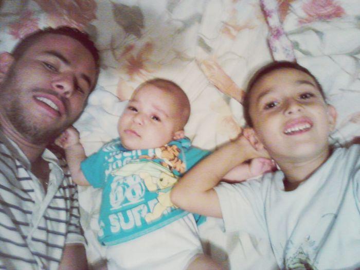 Khalil withe Jojo and Himou