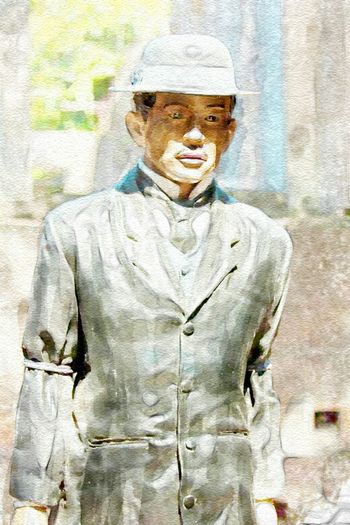 Dr. Jose Rizal. Did this one yesterday. Watercolor ArtWork
