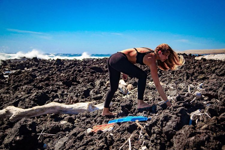We throw things away, but away does not exist. Welcome to away. Beach Shore Outdoors Cloud - Sky Sea Kamilo Beach Marine Debris Plastic Trash Big Island Hawaii