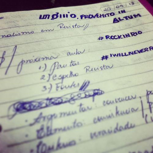Iwillneverforget Class Rockinrio Memory love sad rio brazil homework college tstm mars echelon provehito in altum @fekodama