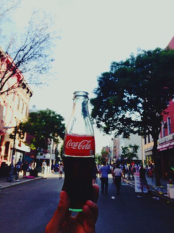 Cold Coke In The Summer NYC