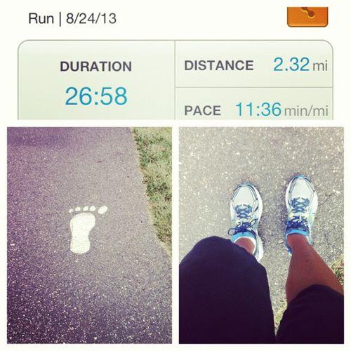 And just that quick... I got it in? ✌??? MIrun Runner Cardio Running Saturday Brooks Ravenna park trail followthefeet instarunner picstitch