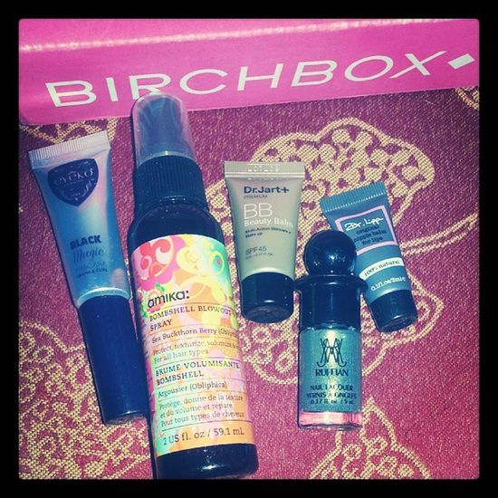 Yay finally something Fun came in the Mail today! :) Surprise Birchbox