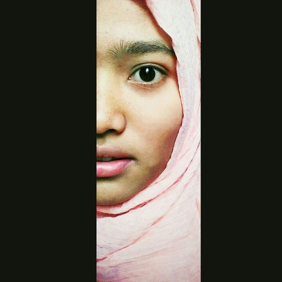 A half of my face 😊 Hijab Me Girl INDONESIA Follow OpenEdit Likeforlike EyeEm