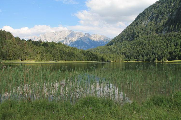 mountains. landscape, Bavaria, sky, nature, lake, water
