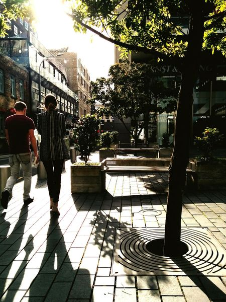 Warm Colors Morning Light Light And Shadow Urban Cityscapes Open Edit Golden Hour Walking Sunlight City