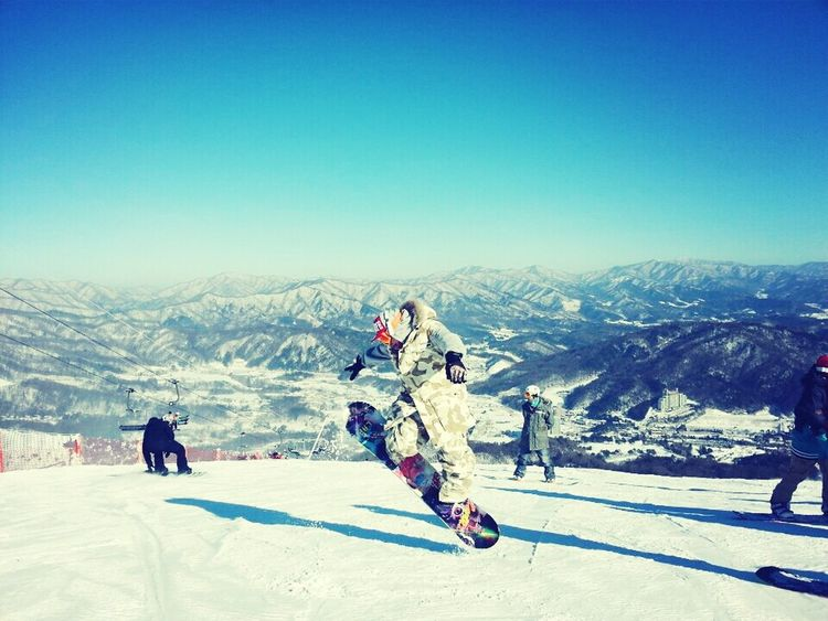 That's Me Enjoying Life Snowboard JustMe