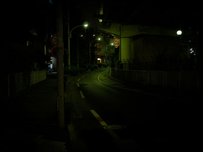 Alone Asphalt City Life Dark Darkness Empty Japan Lonely Night Road Street Streetphotography Tokyo Urban