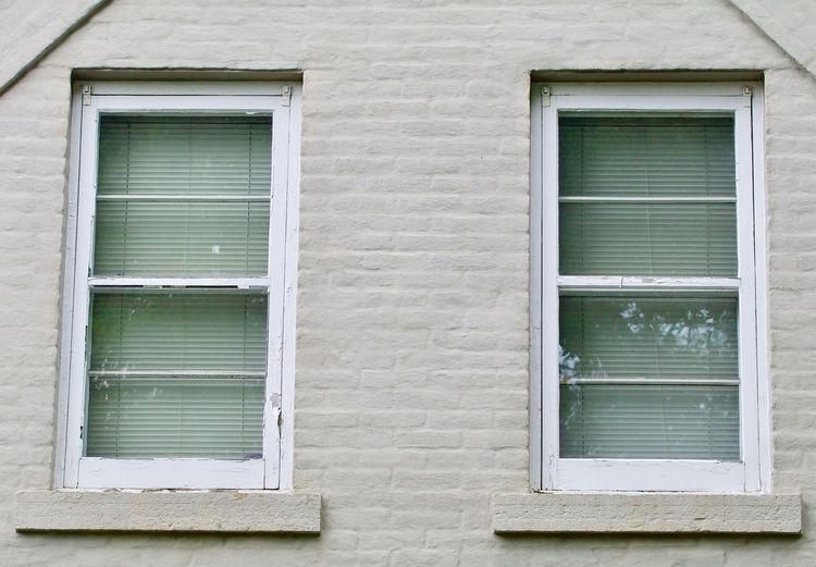Full frame shot of window