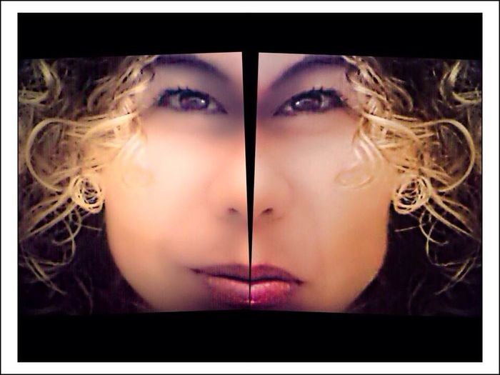 Both side of me...edit by a talented and great friend. That's Me Somosfelices Fortheloveofediting Friendly Collab