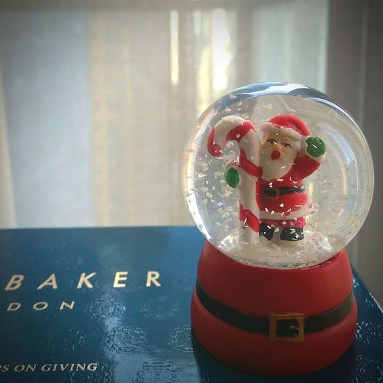 and just like that...the Christmasspirit is kicked right in! Santa is coming to town** FavoriteTimeOfTheYear Christmastime Snowglobes
