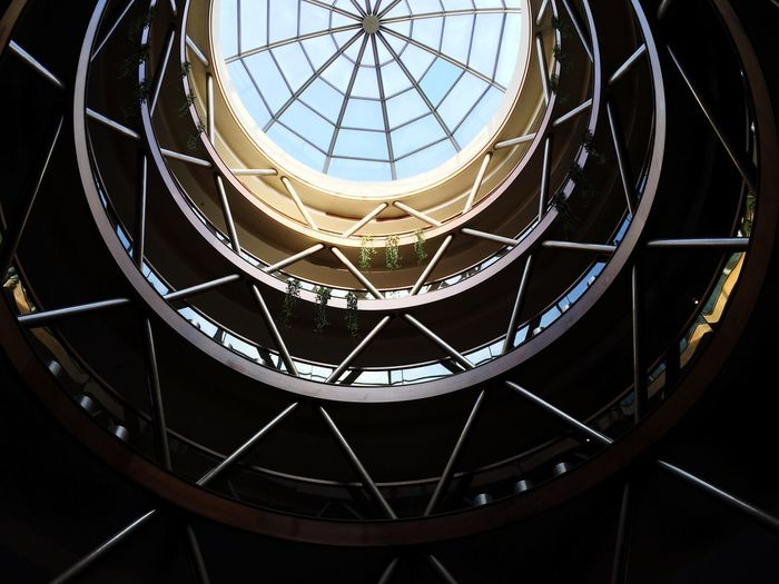 Low Angle View Of Skylight