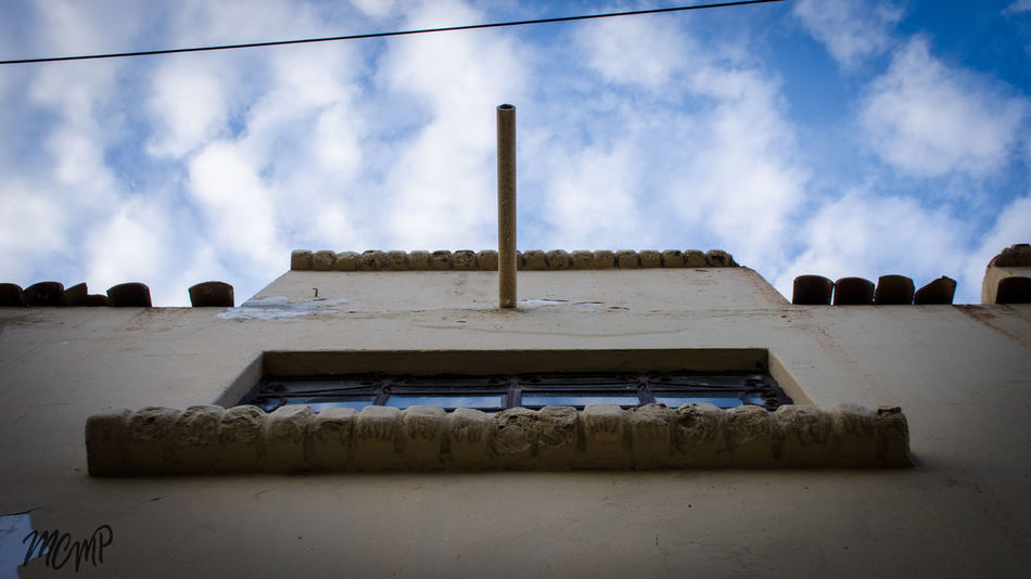 Abandoned Architecture Building Exterior Built Structure Cloud - Sky Day Low Angle View No People Outdoors Panoramic Sky