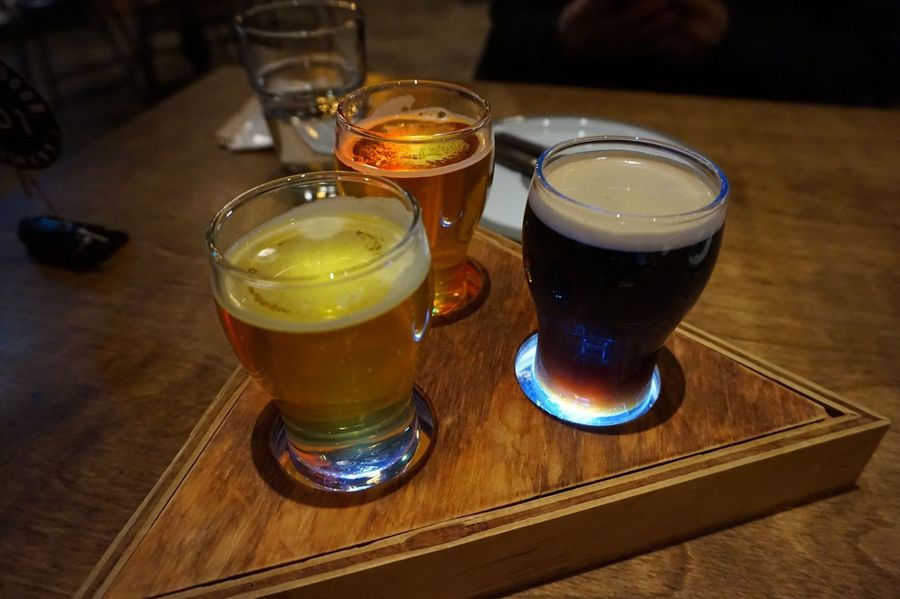 Light Drink Table Food And Drink Refreshment Indoors  Beer Glass Freshness Drinking Glass Alcohol Beer Wood - Material Beer - Alcohol Close-up Food