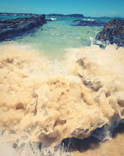 The Tide Samsungphotography Samsung Galaxy S7 Edge EyeEm Best Shots EyeEm Nature Lover EyeEm Best Shots - Nature Eye4photography  Beach Sea Sand Water Nature No People Beauty In Nature Horizon Over Water Wave