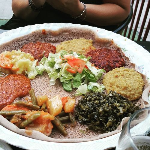 Ethiopian Food Dinnerwithfriends LetsEat Main Course Patiolife Hungry