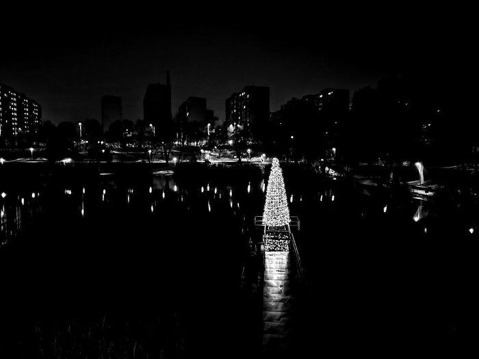City Water Cityscape Illuminated Urban Skyline Nightlife Reflection Sky