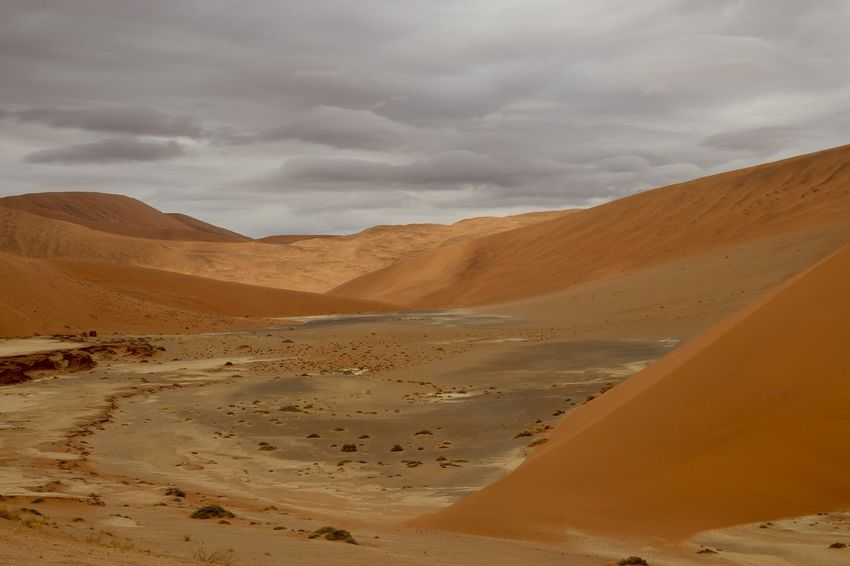 Namibia Namibia Landscape Orange Arid Climate Cloud - Sky Desert Namibia Desert Nature Sand Sand Dune Scenics Sky