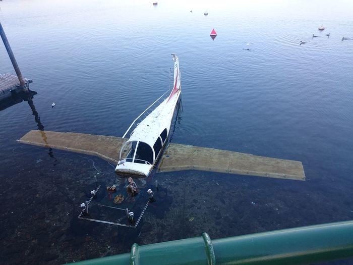 Crashed Plane Lake Water Plane Italy❤️ Trip Taking Photos City Italy