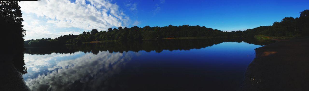 Bracebridge pool Sutton Park Water Reflections