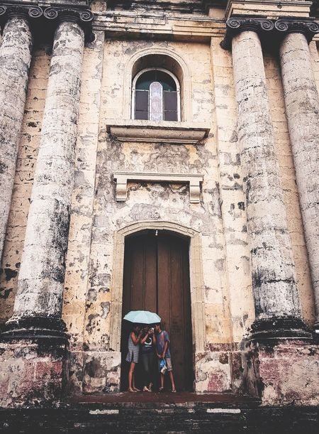 Architecture Built Structure Building Exterior Real People Old Ruin People Young People Live For The Story EyeEm Best Shots The Great Outdoors - 2017 EyeEm Awards Eyeem Philippines