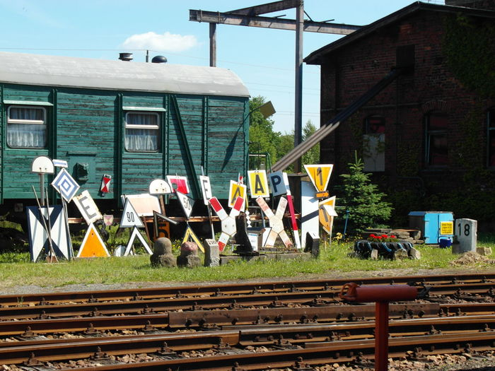 Dampflok Dramatic Sky Railway Museum Deutsche Reichsbahn Museum Railway Coal Railway Depot Steam Train Steamlocomotive