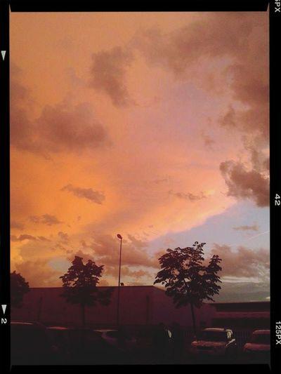 Enjoying Life Beautiful Sunset Warm Weather Goodbye ??❤