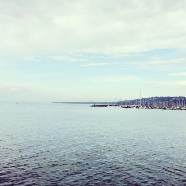 Lac leman Lake Geneva Switzerland