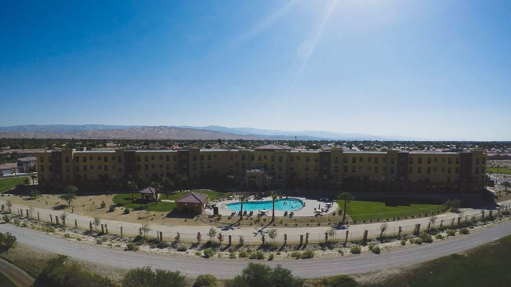 It was a pleasant stay at the Staybridge Suites Cathedral City Golf Resort Desert GoPro Karma