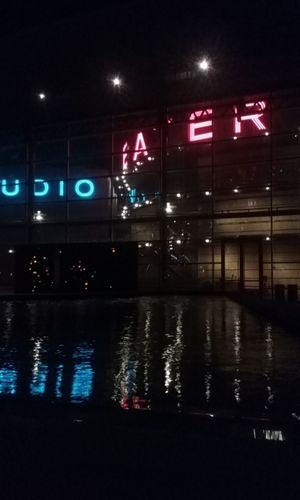 Hidden Gems  Tempe Town Lake tempe art Tempe Art Museum Neon Lights Reflections