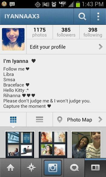 Follow My Instagram ♥