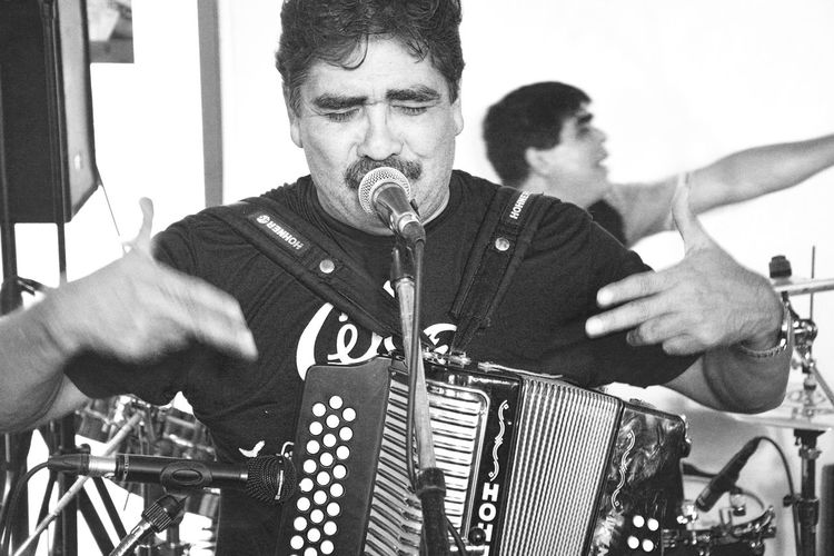Mexican Cumbia singer & Accordeonplayer CelsoPiña performing live on stage in Düsseldorf, Germany The Portraitist - 2015 EyeEm Awards The Moment - 2015 EyeEm Awards The Action Photographer - 2015 EyeEm Awards The Eyeem Collection At Getty Images Buffalo Soldier For The Love Of Music