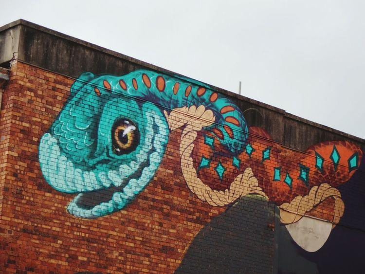 Work in progress First Coat Festival Street Art