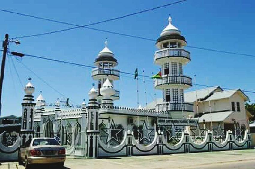 GUYANA, Mosque New Mosque Islamic Architecture Islam #Muslim #Alhamdulillah #Pray #Dua #Sujood #Proud2beamuslim #Blessed #Subhanallah #Beautiful #Muslimah Islamic Center Building Masjid Muslim Culture Muslim Architecture I'm Proud To Be Muslim