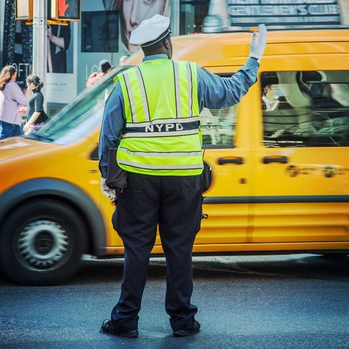 Overweight traffic cop in New York City New York New York City New York ❤ NYPD Overweight Policeman Traffic Traffic Cop Traffic Policeman