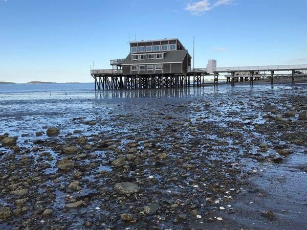 Beach Sea Reflection Architecture The Architect - 2017 EyeEm Awards