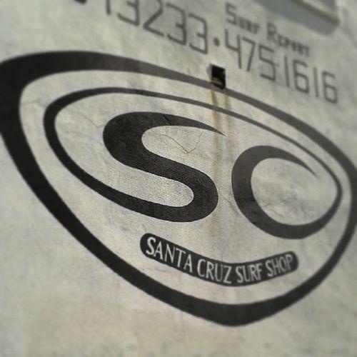 Santacruz California Santacruzsurfshop Wall