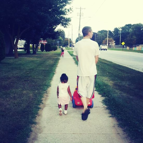 My Husband And My Baby Sister(: Inlaws TooCute LoveThem  Walkingaround