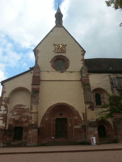 """Cistercian Abbey """"Kloster Bronnbach"""", Germany, built 1222 A.D. Abbey Cloister Church"""