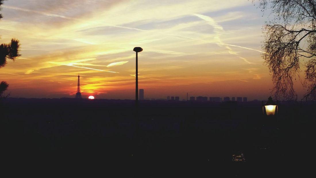 Paris Sunrise Sunrise_sunsets_aroundworld Colors Eiffel Tower Landscape Landscape_Collection