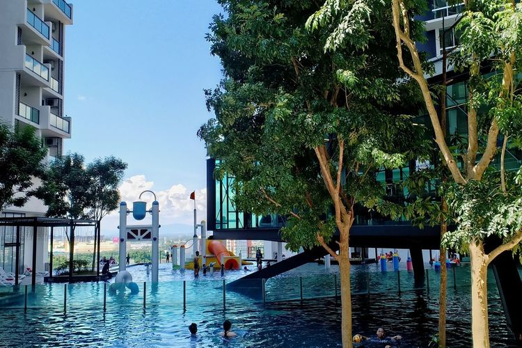 The Shore Melaka (Oct,2018) Tree Water Swimming Pool Flood City Sky Architecture Building Exterior A New Beginning