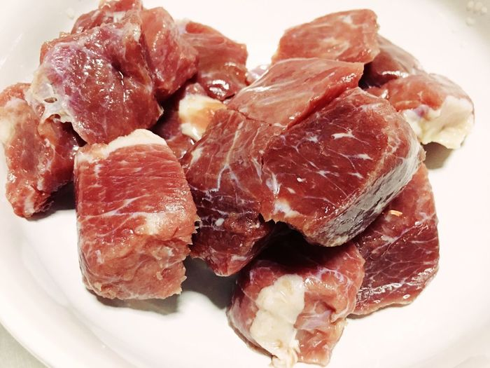 Cut meat. Food And Drink Food Freshness Still Life Indoors  Meat Close-up Pork Raw Food