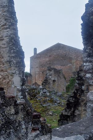 The Week Of Eyeem Photooftheday Picoftheday Outdoors Photography Architecture Sky History Old Ruin Day Oradour Sur Glane High Angle View No People Stone Material Destruction Village Green Color Old Town Exploring France WWII Bicyclelife Streetphotography Newtalent Architecture