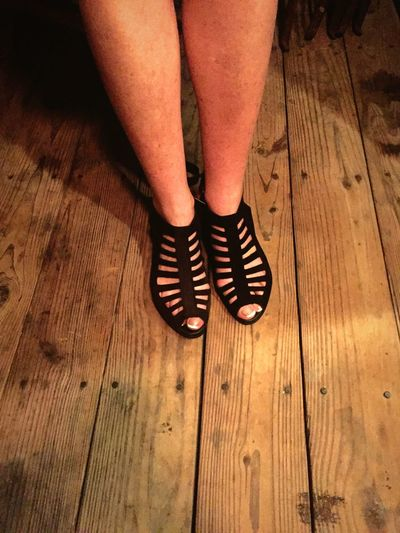 Shoes Black Shoes Strappy Heels... Wood Floors Feet Ladies Shoes United States Painted Toenails French Manicure Toes